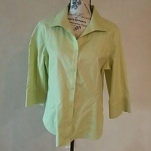 Chico's Women's No-Iron Button Up Shirt